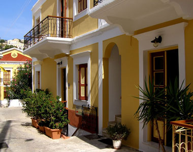 Symi Σύμη Hotel Kokona Συμη Greece Island Guide Symigreece